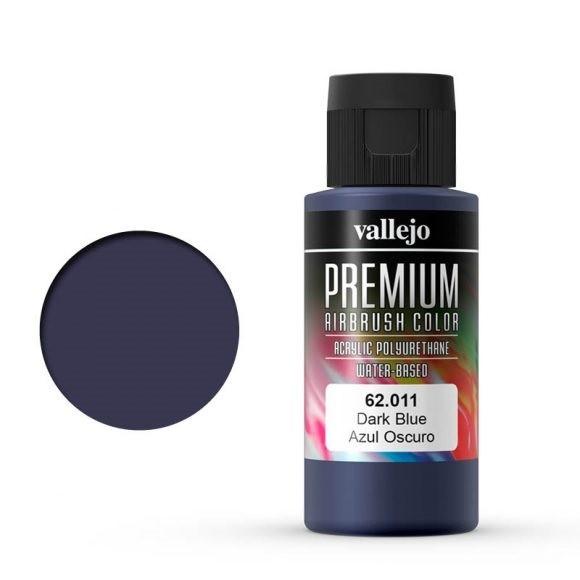 Vallejo Premium: Dark Blue (Polyu.) (60ml)