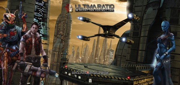"Ultima Ratio - Erzählerschirm ""Auda"""