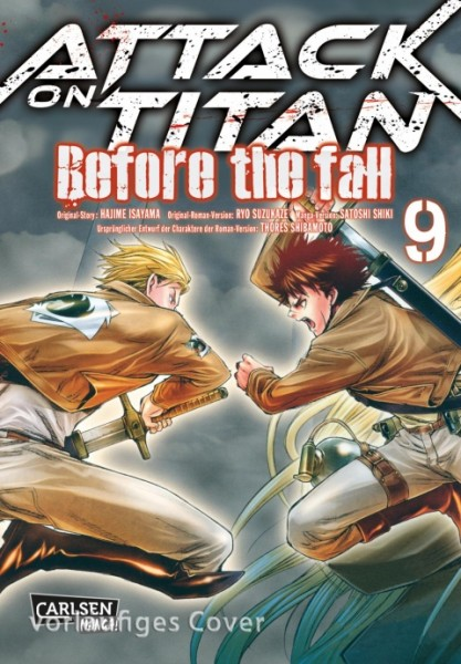 Attack on Titan - Before the Fall Band 9