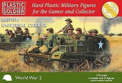 Plastic Soldier: 1/72 Universal Carrier (Plastik x3)