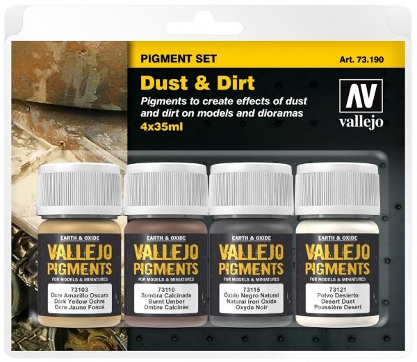 "Vallejo Pigment Set ""Dust & Dirt"" (4)"