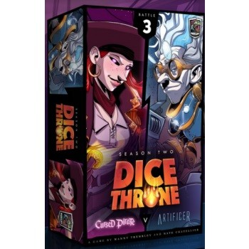Dice Throne: Season Two - Cursed Pirate VS Artificer (eng.)