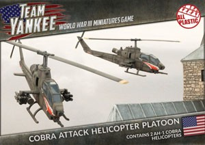 Team Yankee Cobra Helicopter (plastic x2)