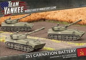 Team Yankee 2S1 Carnation 122m SP Howitzer (x3)