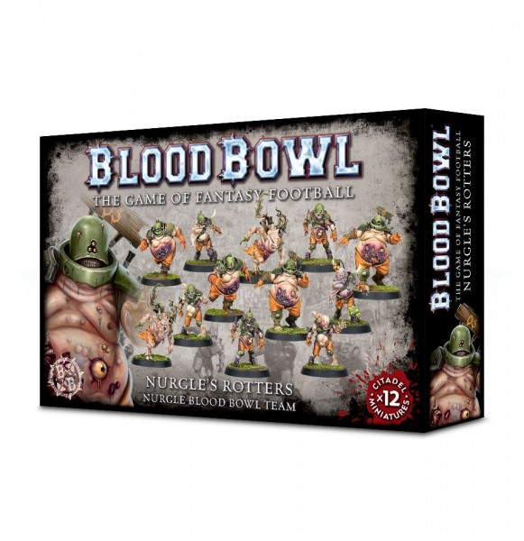 Blood Bowl Nurgle´s Rotters Team