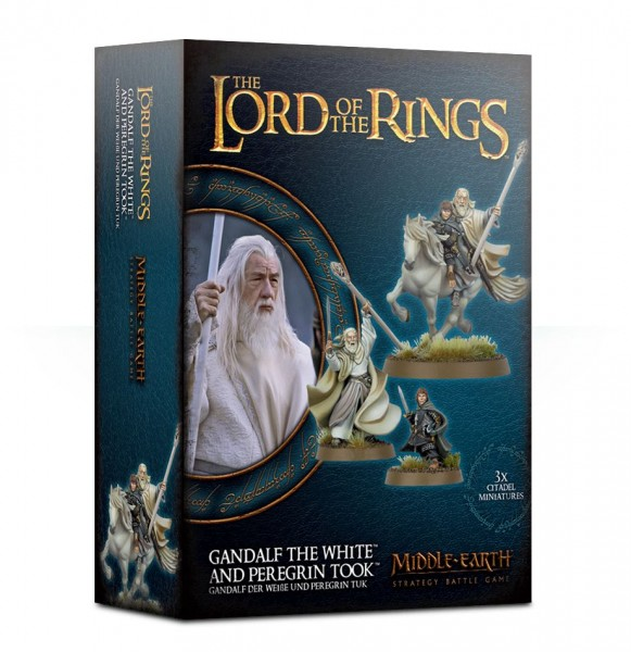 Middle Earth: Gandalf der Weiße und Peregrin Tuk (x2)