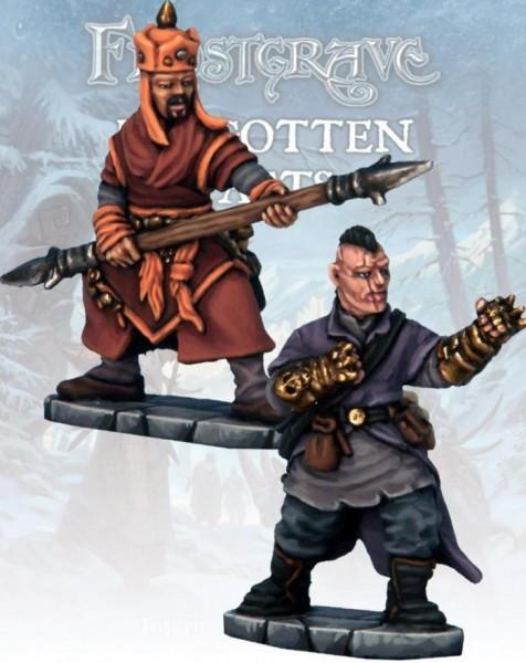 Frostgrave: Frostgrave Monk & Mystic Warrior