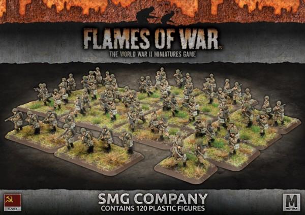 Flames of War SU: SMG Company (x120/Plastic)