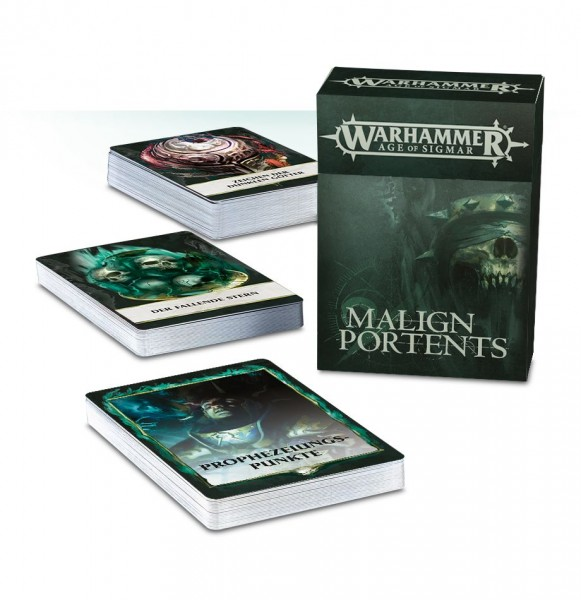 Age of Sigmar: Malign Portents Karten (dt.)