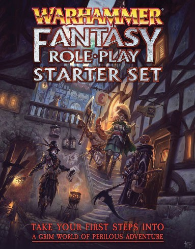 Warhammer Fantasy Roleplay 4th Edition Starter Set (engl.)