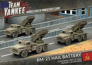 Team Yankee BM-21 Hail Rocket Launcher (x3)