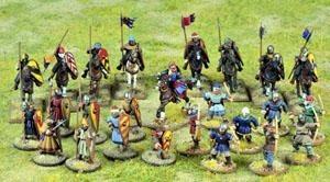 SAGA: C&C Crusader Warband (Mixed 4 Points)