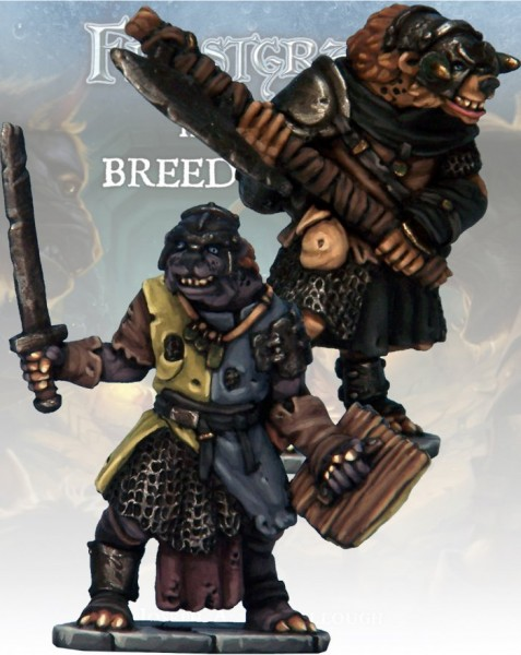 Frostgrave: Gnoll Knight & Templar (2)