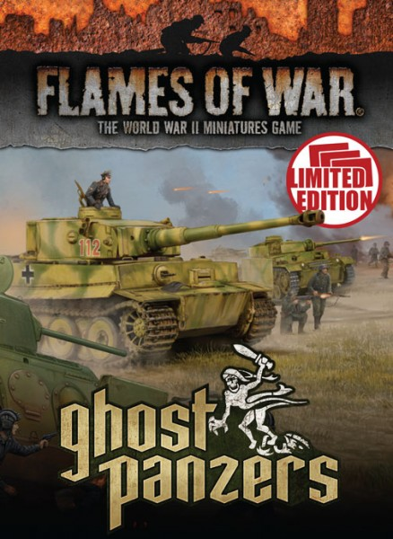 Flames of War GE: Ghost Panzers - Unit Cards (engl.)