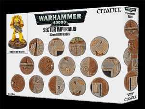 WH40K Sector Imperialis: 32mm Round Bases