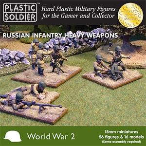 Plastic Soldier 15mm WW2 Russian Infantry Heavy We (für FoW)