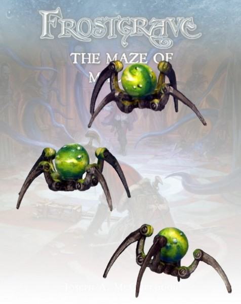 Frostgrave Glass Spiders (3)