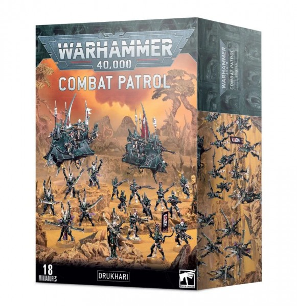Warhammer 40k Drukhari Kampfpatrouille