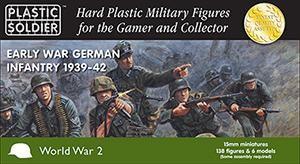 Plastic Soldier 15mm WW2 Early War German Infantry 1939-42
