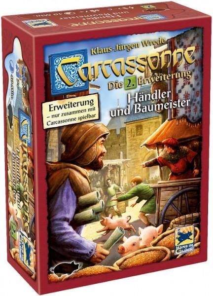Carcassonne - Händler & Baumeister (2. Erweiterung)