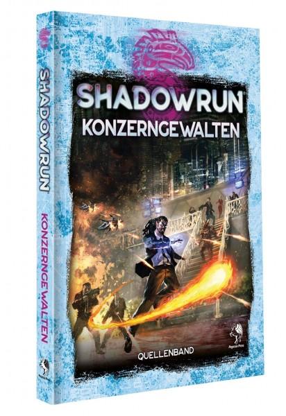 Shadowrun 6 - Konzerngewalten (Hardcover)