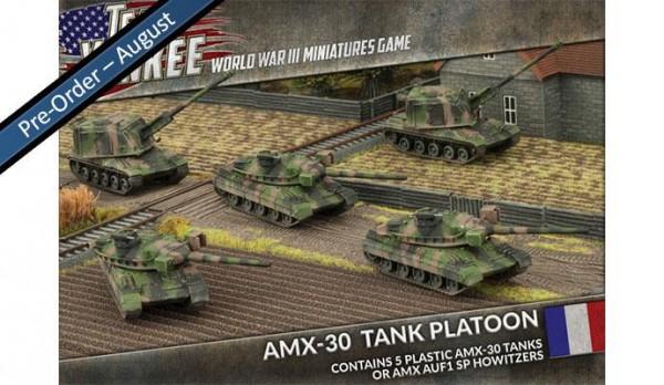 Team Yankee French AMX-30 Tank (Plasticx5)