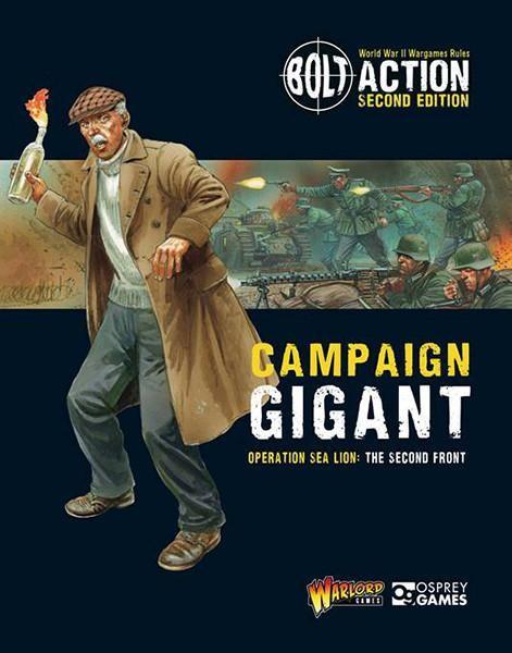 "Bolt Action: Operation Sea Lion II ""Operation Gigant"""
