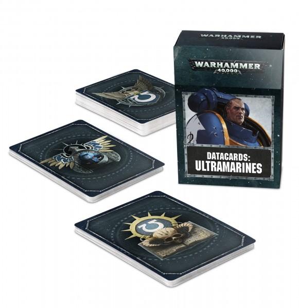Warhammer 40k Space Marines: Datacards: Ultramarines (englisch)