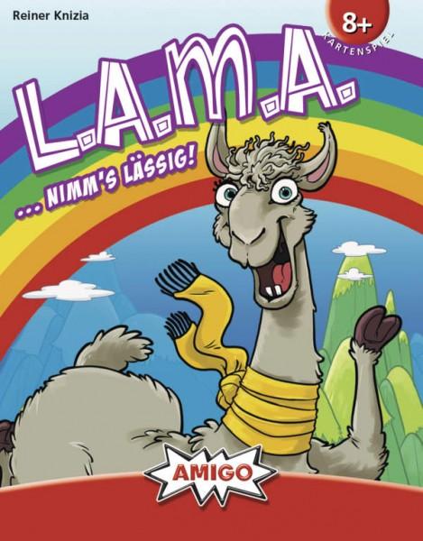 """LAMA (dt.) (nominiert """"Spiel des Jahres 2019"""")"""