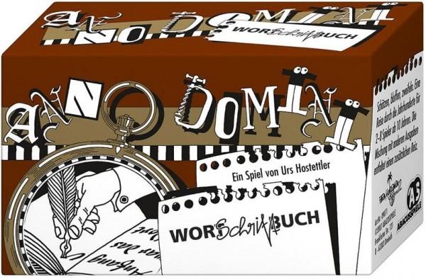 Anno Domini Wort Schrift Buch