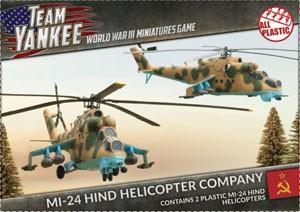 Team Yankee Mi-24 Hind Helicopter (plastic x2)