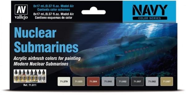 Model Air: Model Air Set Nuclear Submarines (8)