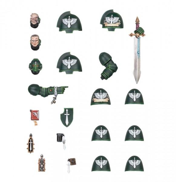 Warhammer 40k Dark Angels: Dark Angels Primaris Upgrades