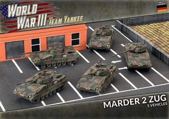 Team Yankee West German Marder 2 Zug (x5)