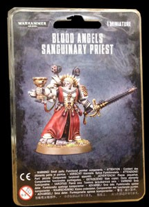 Space Marine Blood Angels Sanguinary Priest