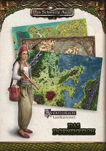 DSA5 - Landkartenset Das Dornenreich