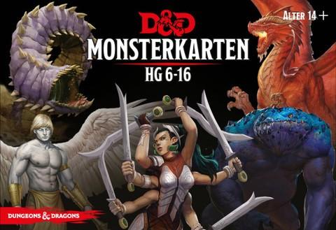 Dungeons & Dragons: Monster Deck 6-16 (Deutsch)