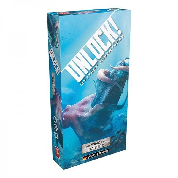 Unlock! - Das Wrack der Nautilus (Einzelszenario)
