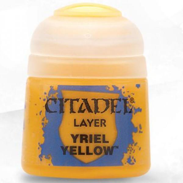 Layer: Yriel Yellow 12ml