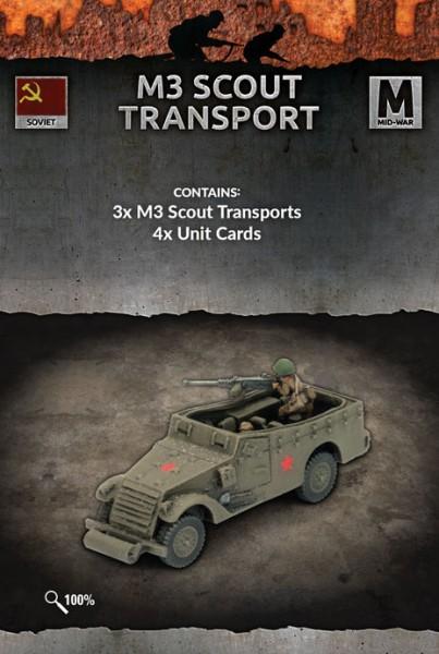 Flames of War SU: M3 Scout Transport (x3)