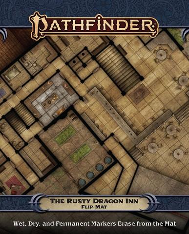 Pathfinder Flip-Mat: The Rusty Dragon Inn (engl.)