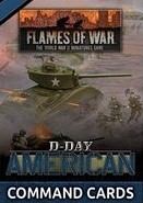 Flames of War US: D-Day Americans: Command Cards (engl.)
