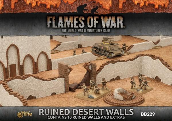 Ruined Desert Walls (x10)