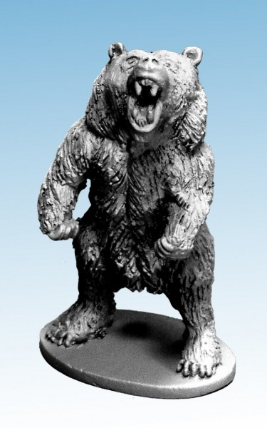 Frostgrave: Bear - Roaring to attack (1)