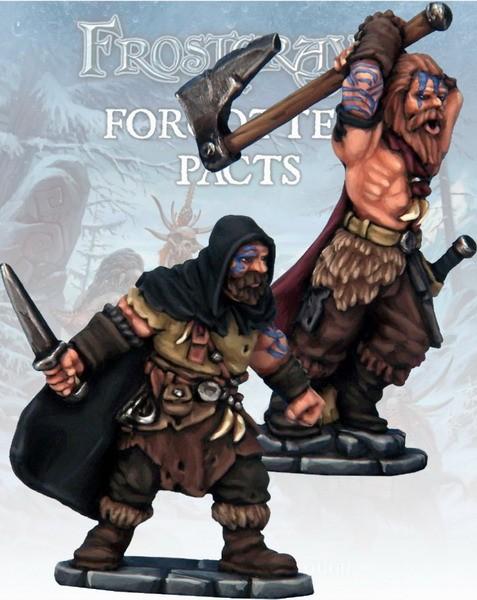 Frostgrave: Barbarian Thief & Berserker (2)