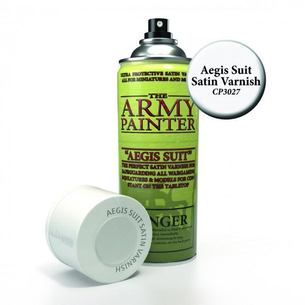 The Army Painter: Base Primer, Aegis Suit, Satin Varnish