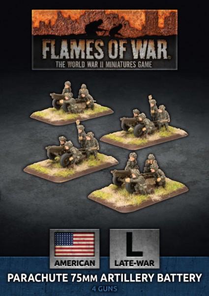 Flames of War US: Parachute 75mm Artillery Battery (Plastic)