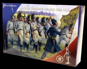 Perry Miniatures: Austrian Napoleonic Infantry 1809-1815 (48