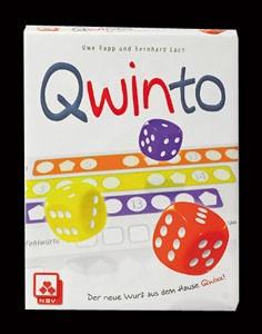 Qwinto Würfelspiel