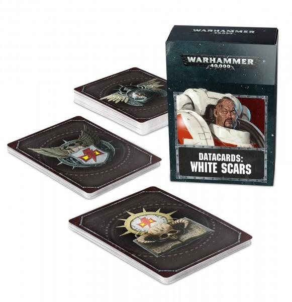 Warhammer 40k Space Marines: Datacards: White Scars (englisch)